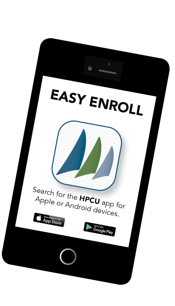 Mobile phone easy enroll mobile banking