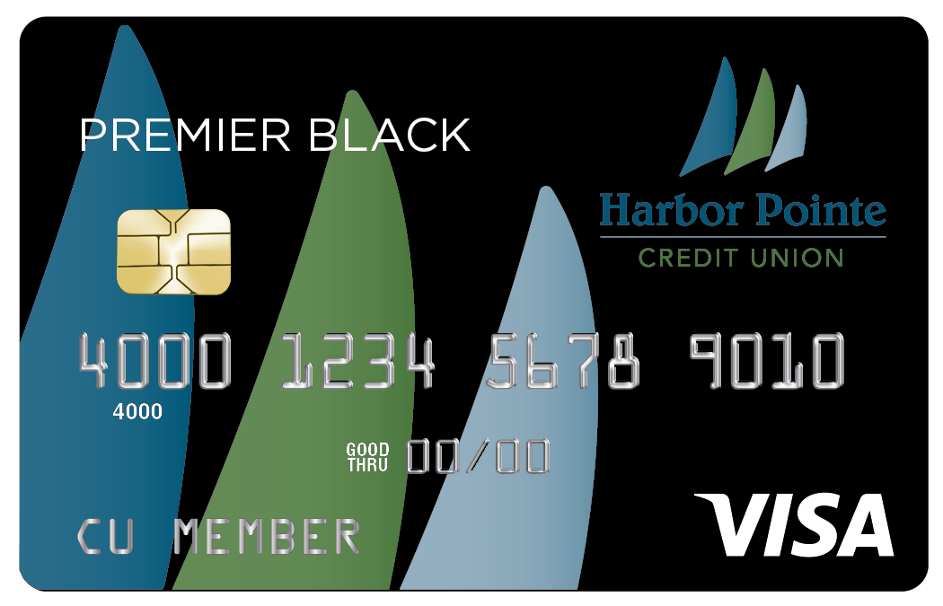 Premire Black Visa Card