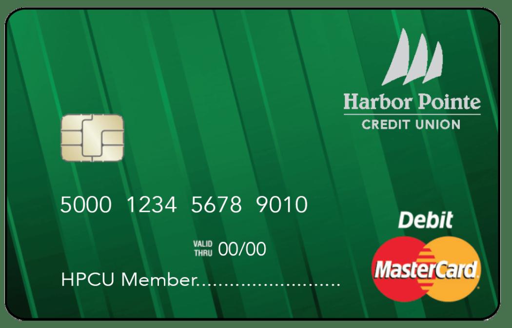 MasterCard® Debit Cards | Harbor Pointe Credit Union in
